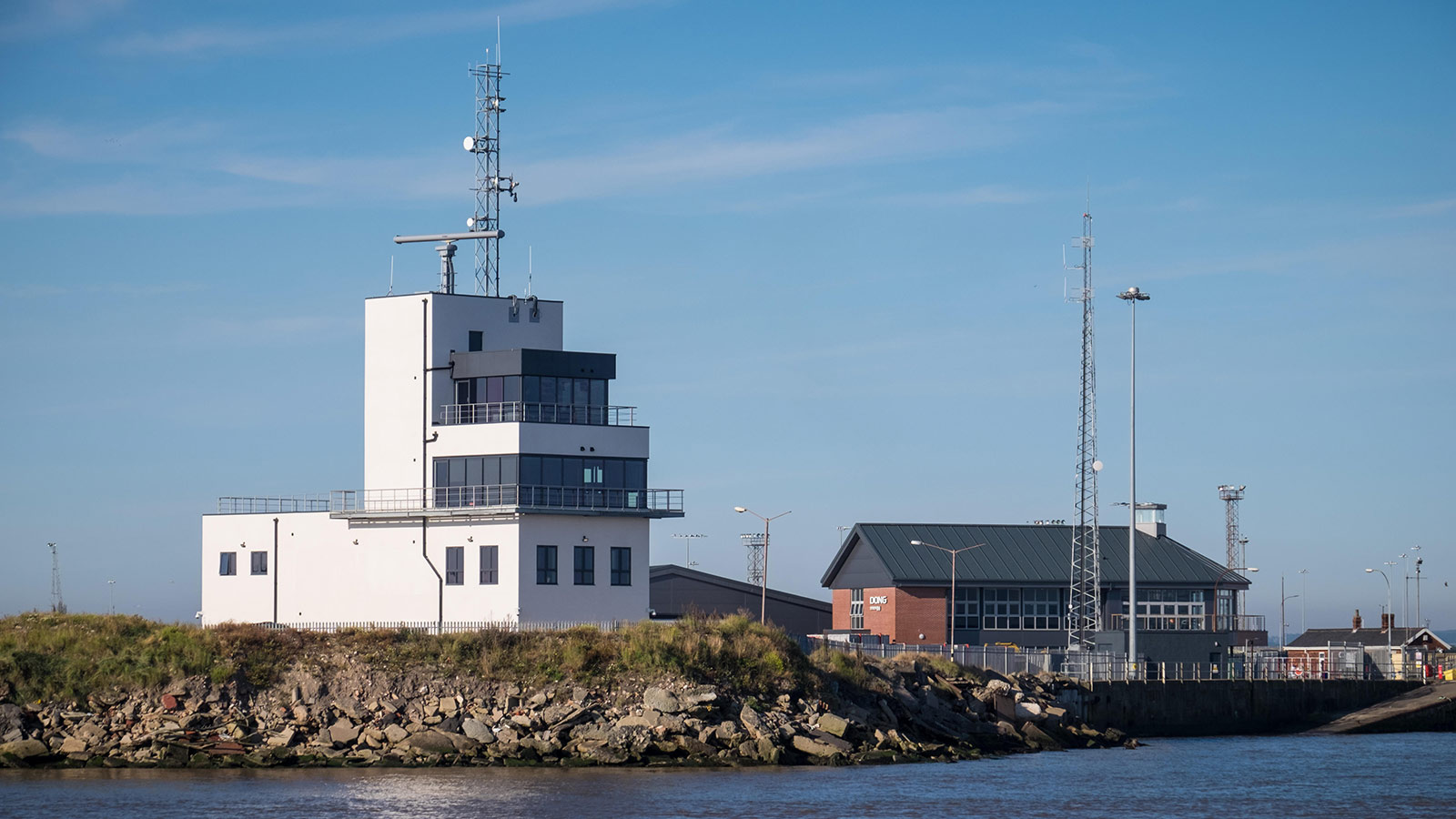 Waterfront view of the Humber Marine Control Centre