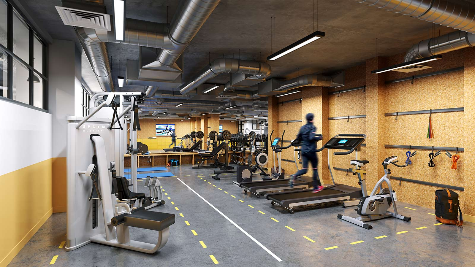 The West wing gym