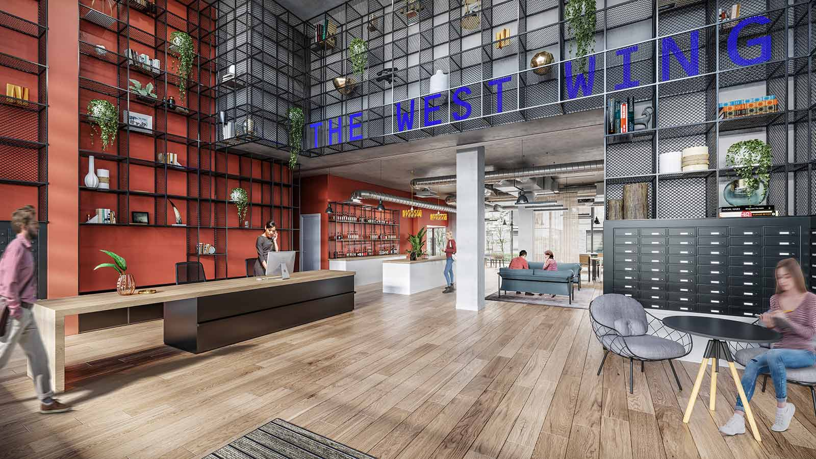 The West Wing reception